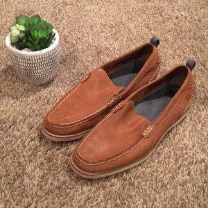 Leather Sperry Loafers